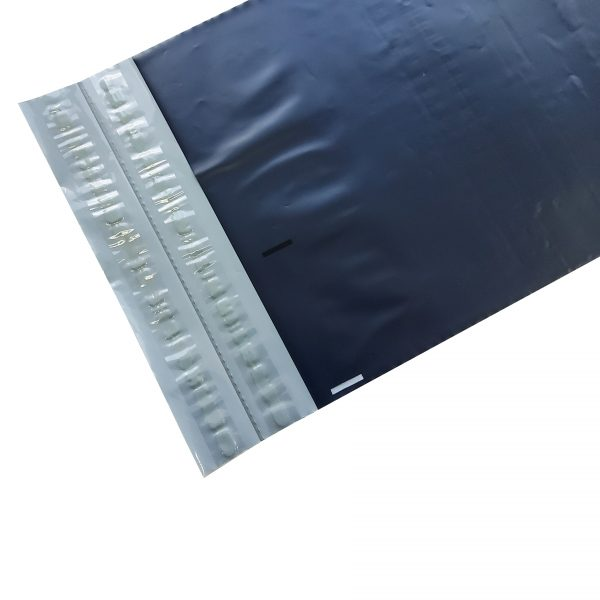 Blue Poly Mailer with double adhesive strip