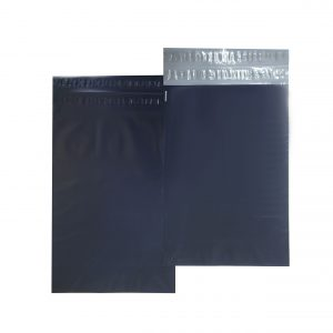 Blue Poly Mailer Front & Back