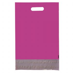 Warm Red Secure Poly Mailer with Handle